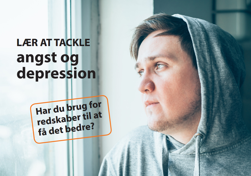 Lær at tackle angst og depression - unge